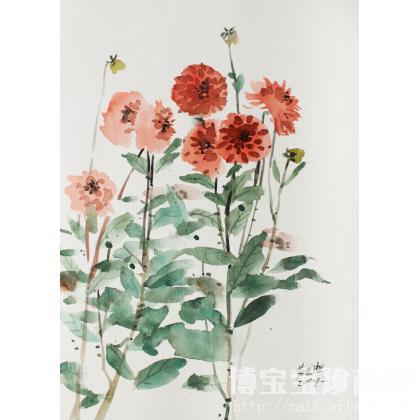 花卉 类别 水粉画 水彩画X